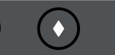 AT&T TV Remote Diamond button